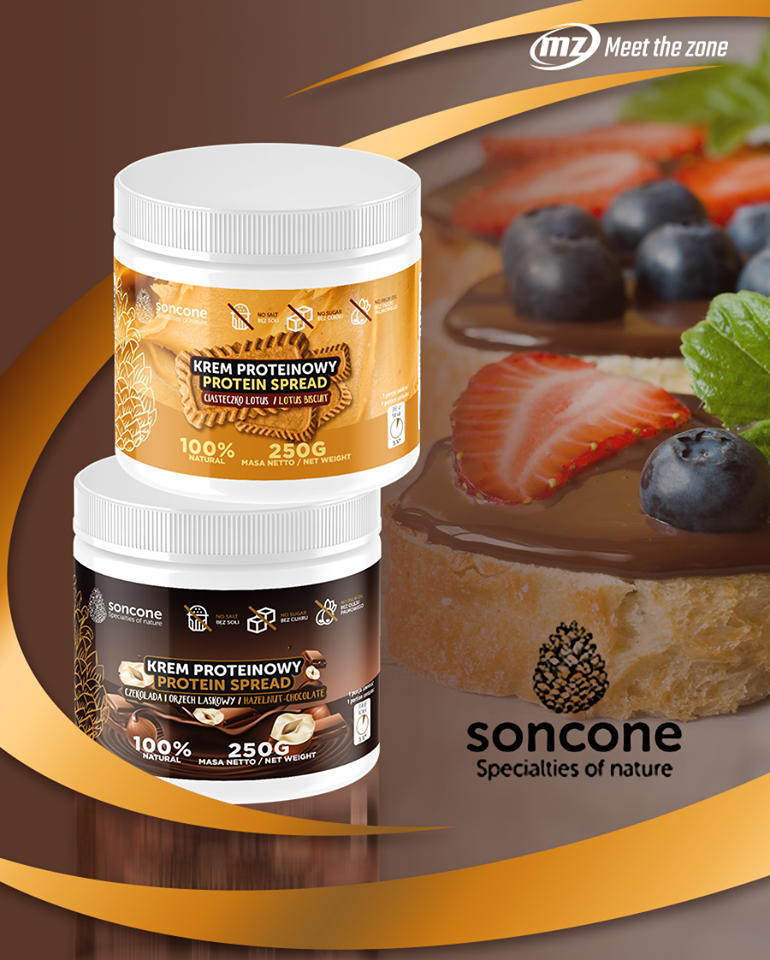 Soncone Protein spreads